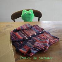 Frosch im Sommer